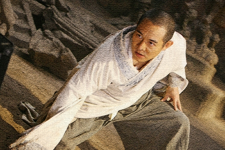 Jet Li stars as Silent Monk in THE FORBIDDEN KINGDOM